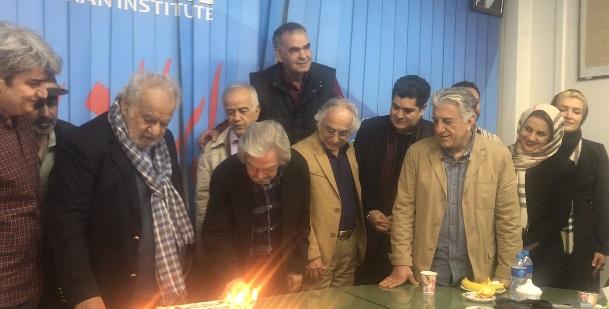جشن تولد 87سالگی ناصر ملک مطیعی با حضور رضا عطاران ،شمس لنگرودی،سالار عقیلی و رضا کیانیان
