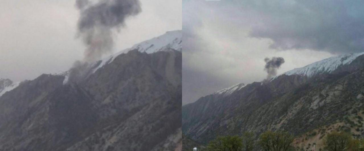 سقوط هواپیمای ترکیه ای در شهرکرد