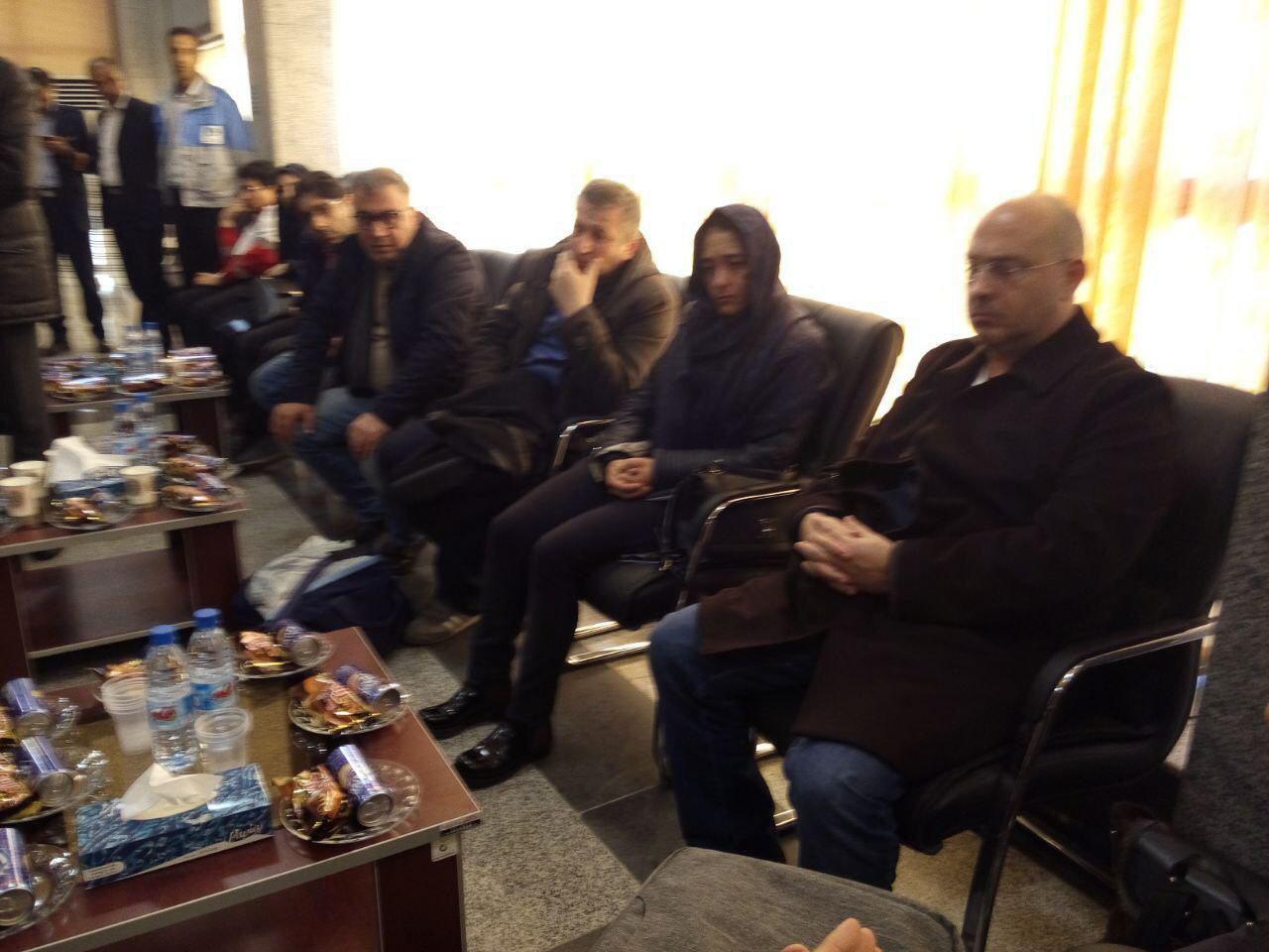 ورود خانوادههای جان باختگان هواپیمای ترکیهای به شهرکرد (عکس)