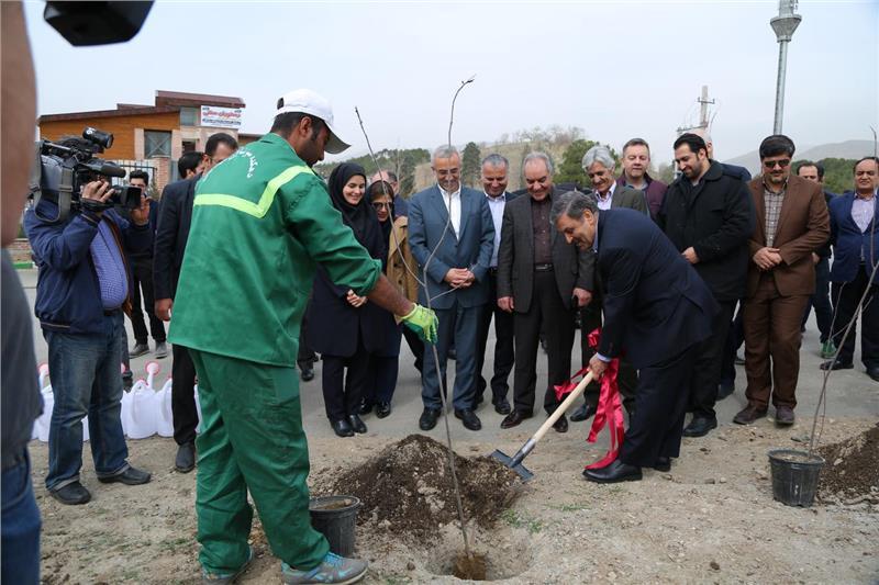افتتاح پردیس گردشگری بانک گردشگری