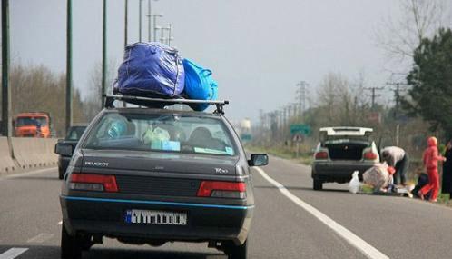 نوروز و ماشین های پلاک تهران!