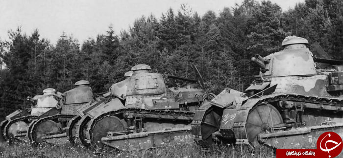 تانکهای عجیبی که مسیر جنگ جهانی را عوض کردند (+عکس)