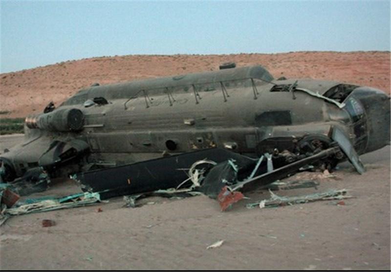 7 کشته در سقوط بالگرد آمریکا