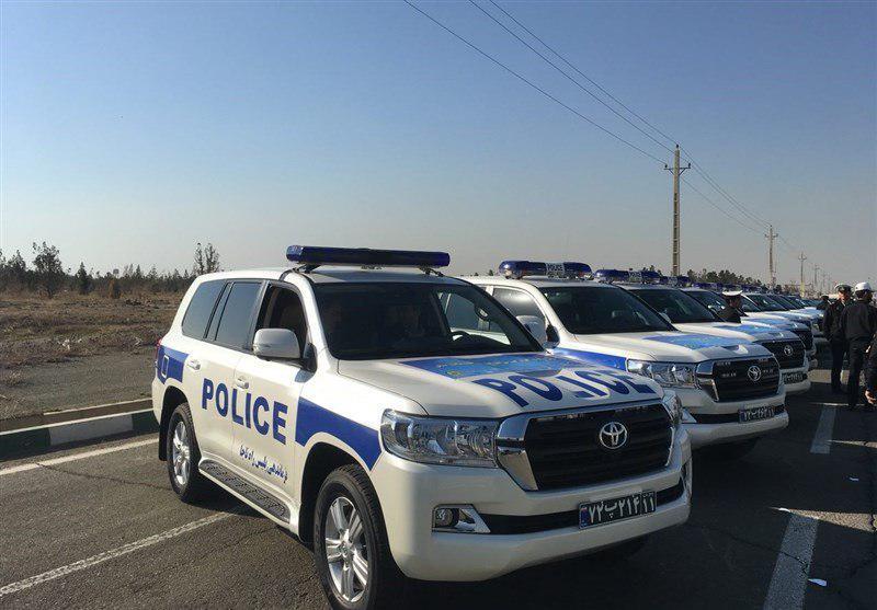 ورود لندکروزهای جدید به ناوگان خودرویی پلیس (عکس)