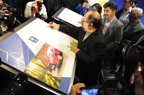 رونمايي از کتاب گزارش عملکرد پایدار و مسئولیت اجتماعی ایران خودرو