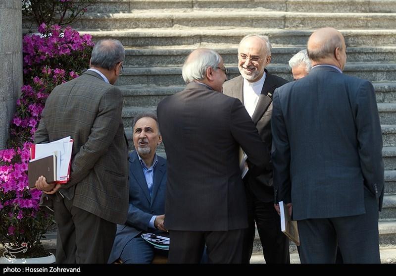 حضور نجفی در جلسه هیئت دولت (عکس)