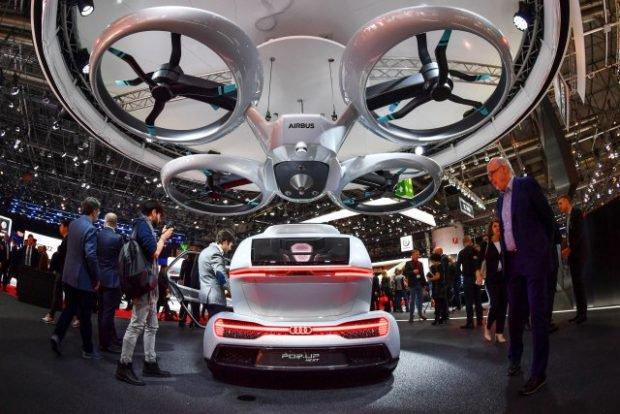 پروازیها بر فراز بزرگترین نمایشگاه خودرویی اروپا