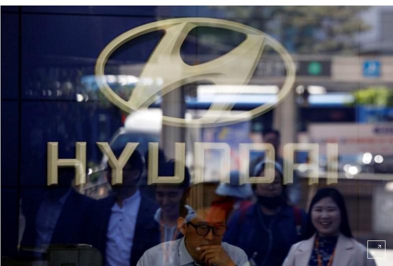 ایربگهایی که به کاهش سهام هیوندایی منجر شدند