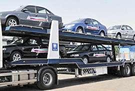 ایران خودرو 10 هزار دستگاه خودرو صادر می کند
