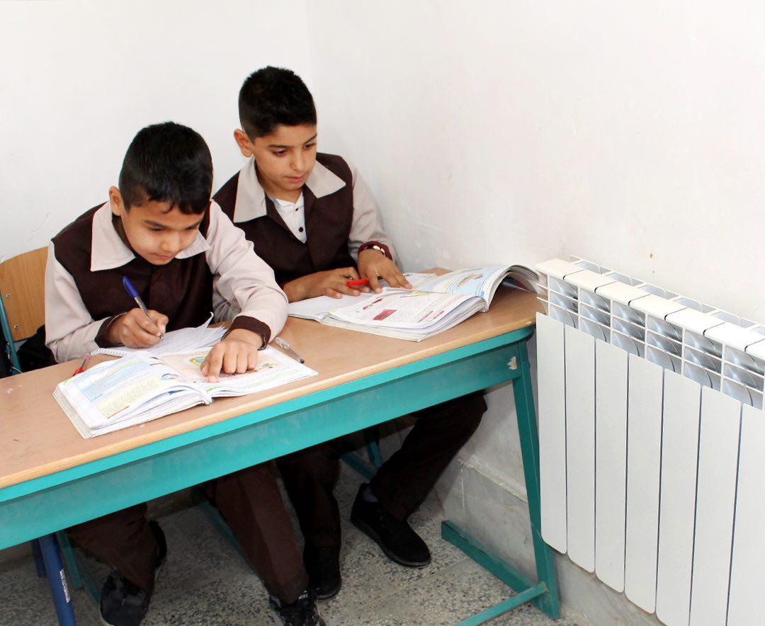 بهسازی، تجهیز و استانداردسازی سیستم گرمایشی مدارس در مناطق محروم