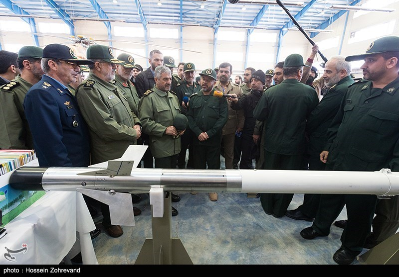 جدیدترین موشک ضدزره ایرانی با نام «آذرخش» رونمایی شد (+عکس)