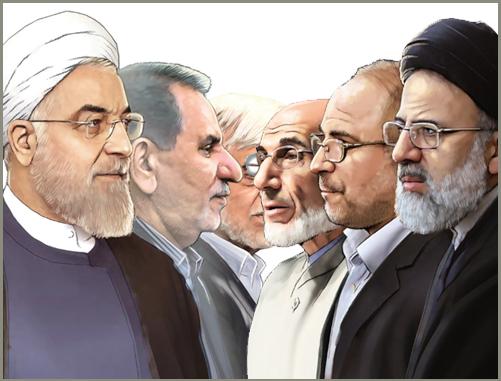 نفر هفتم وارده لیست نامزدهای ریاست جمهوری شد