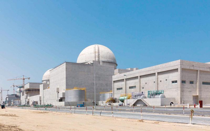 پایان ساخت نخستین نیروگاه هستهای امارات