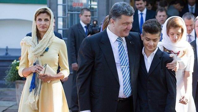 پسر پورشنکو با یک لباس روسی جنجال به پا کرد (+عکس)