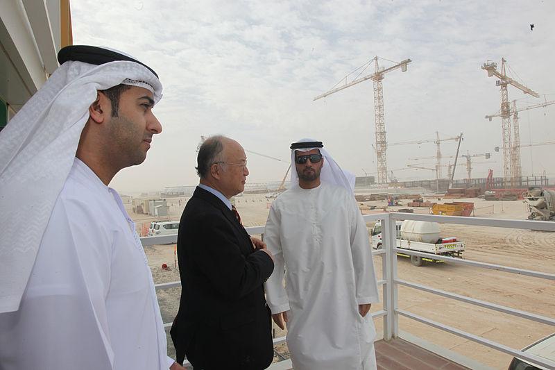پایان ساخت نخستین نیروگاه هستهای امارات (+عکس)