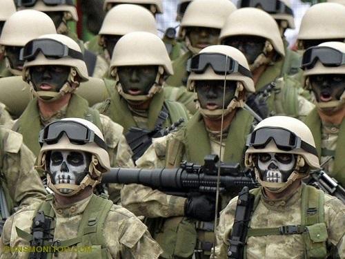 نیروهای ویژه؛ از لک لک های سیاه تا تک تیراندازان آمریکایی!(+عکس)