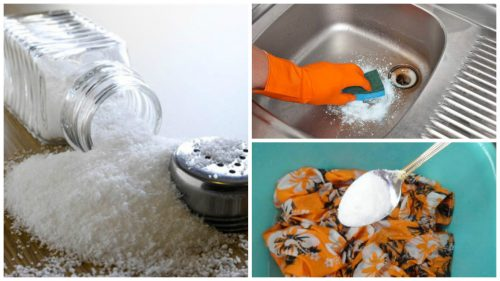 ترفندهای نمکی برای پاکسازی خانه