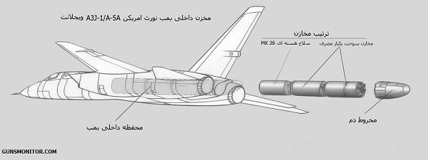 یکی از پیچیده ترین بمب افکن های آمریکایی! (+عکس)