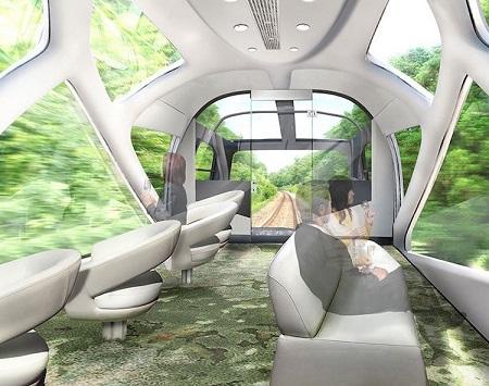 کلاسی جدید در قطار سواری
