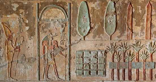 کشف باغ تدفین 4000 ساله در مصر (+عکس)