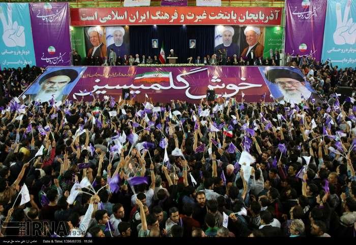 روحانی در پاسخ به درخواست رفع حصر: بازوی من قدرت بعضی چیزها را ندارد/بار دیگر ۲ خرداد ۷۶ را تکرار میکنیم