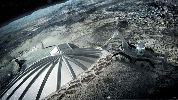 ساخت روستا در ماه توسط چین و اروپا (+عکس)