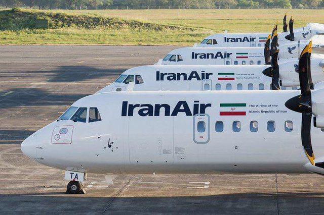 ۴ هواپیمای ATR ایران به زمین نشستند (+عکس)