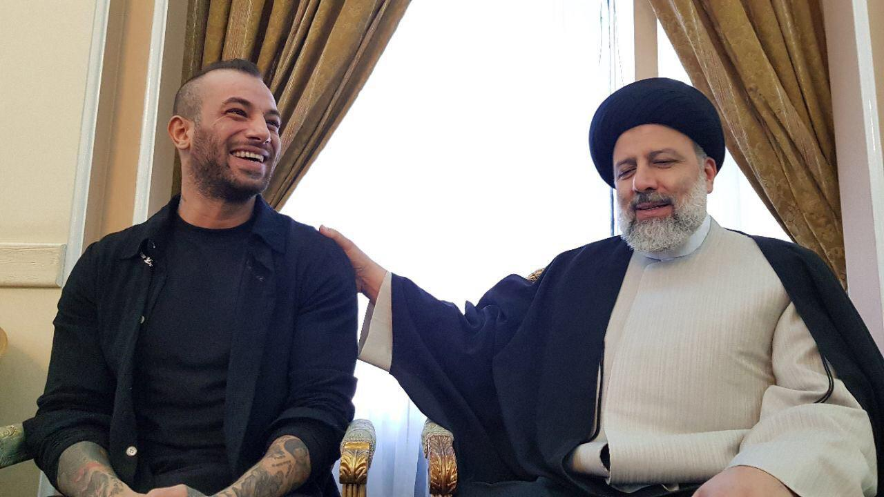امیر تتلو و جناب آقای رئیسی+فیلم کامل گفت وگو