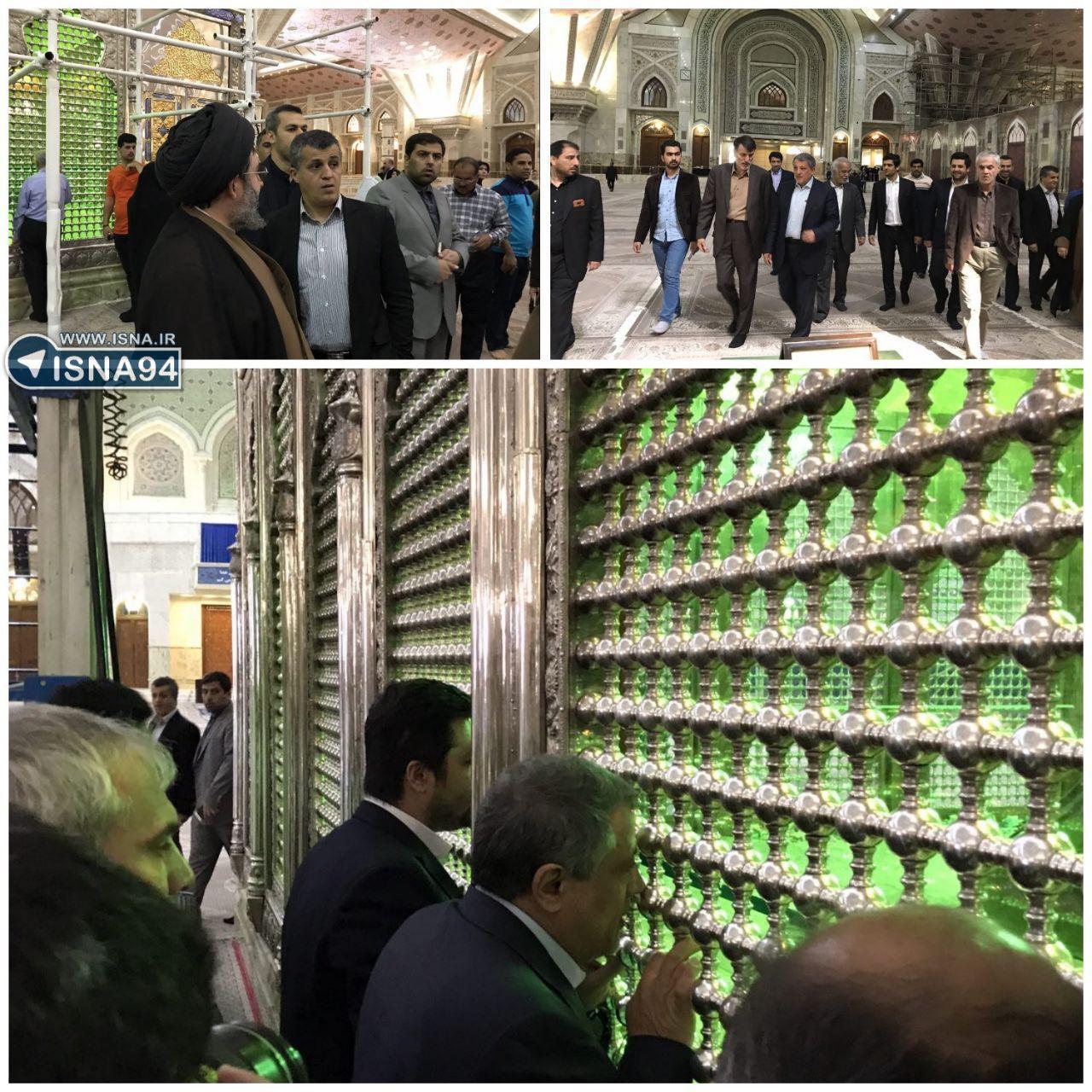 انتخابات ریاست جمهوری: آغاز رای گیری در سراسر ایران / مقام معظم رهبری رای دادند/ روحانی رای داد:  با آمادگی به قرن جدید وارد شویم