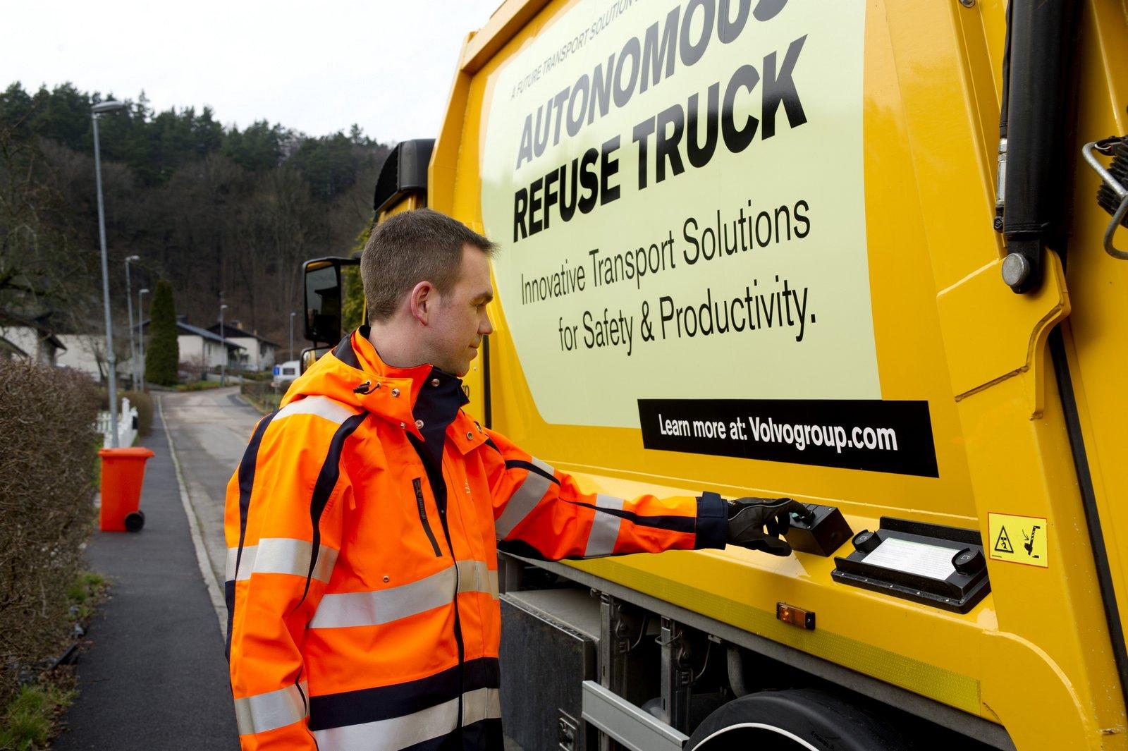 خودرانی برای جمعآوری زباله