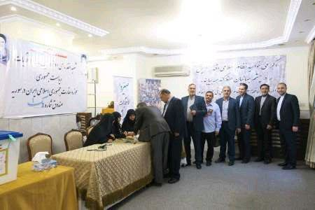 برگزاری انتخابات ریاست جمهوری در 8 شعبه اخذ رای در سوریه