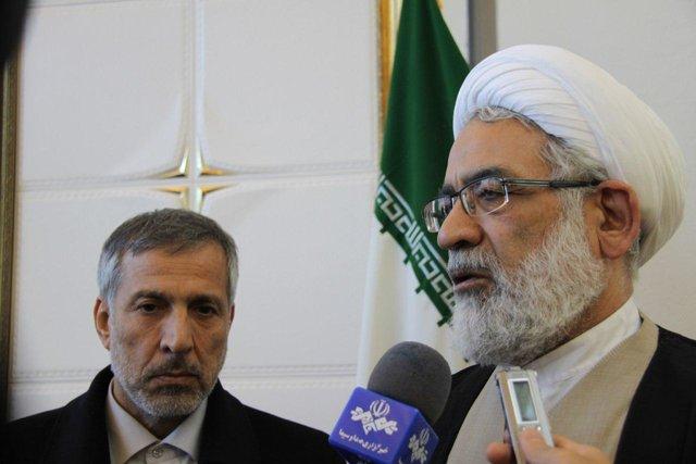 بازدید دادستان کل کشور از ستاد انتخابات وزارت کشور