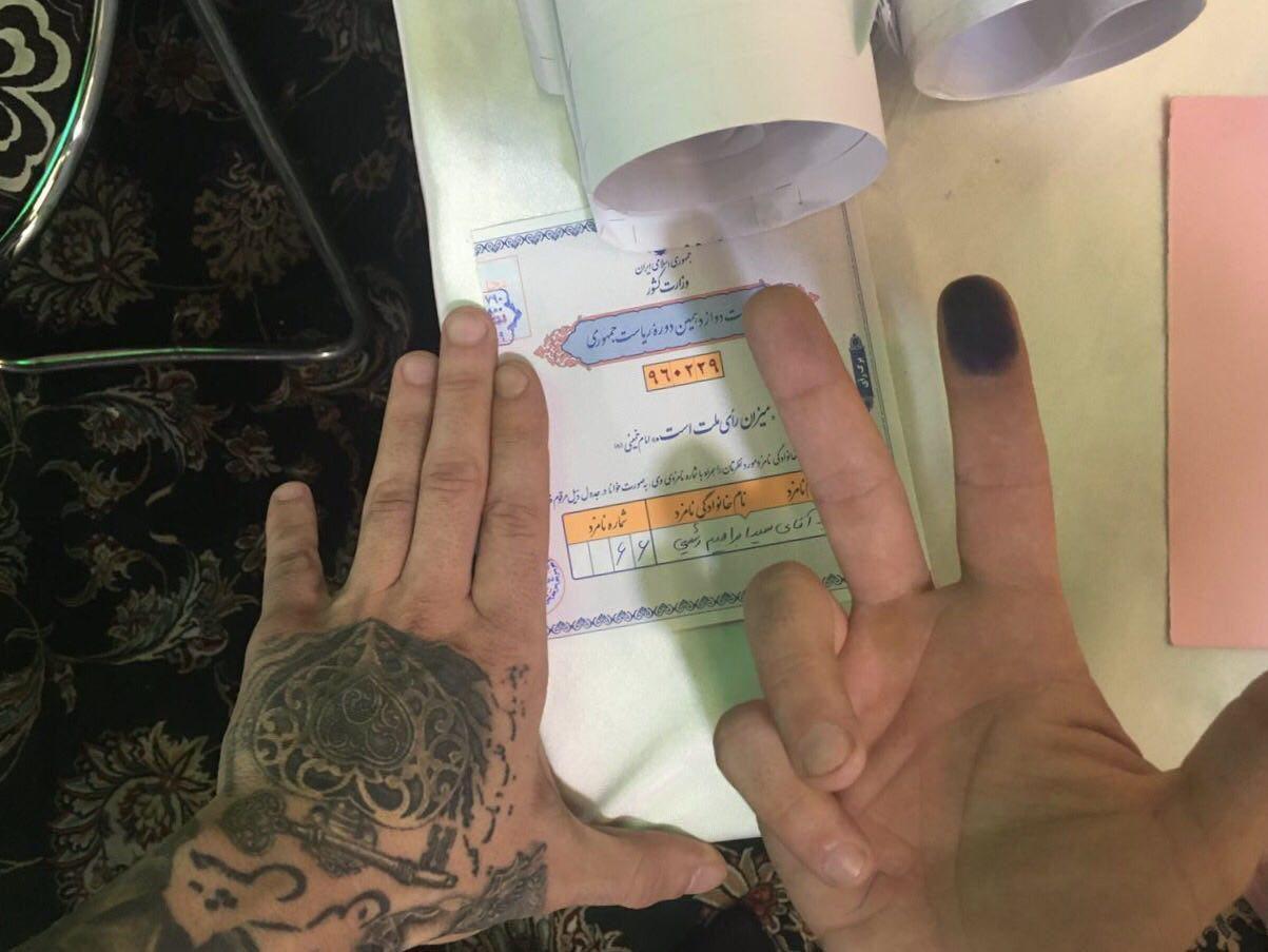 تتلو هم رای داد (عکس)