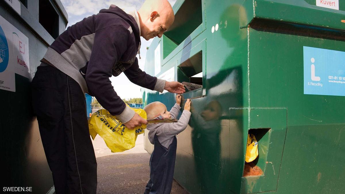 سوئد: بازیافت 99 درصد زبالهها / تبدیل زباله به انرژی گرمایی