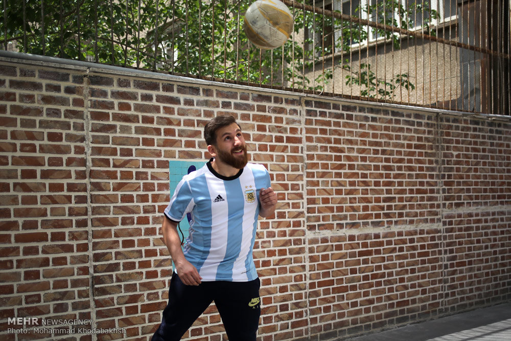 داستان شباهت عجیب و غریب یک ایرانی به مسی(+عکس)