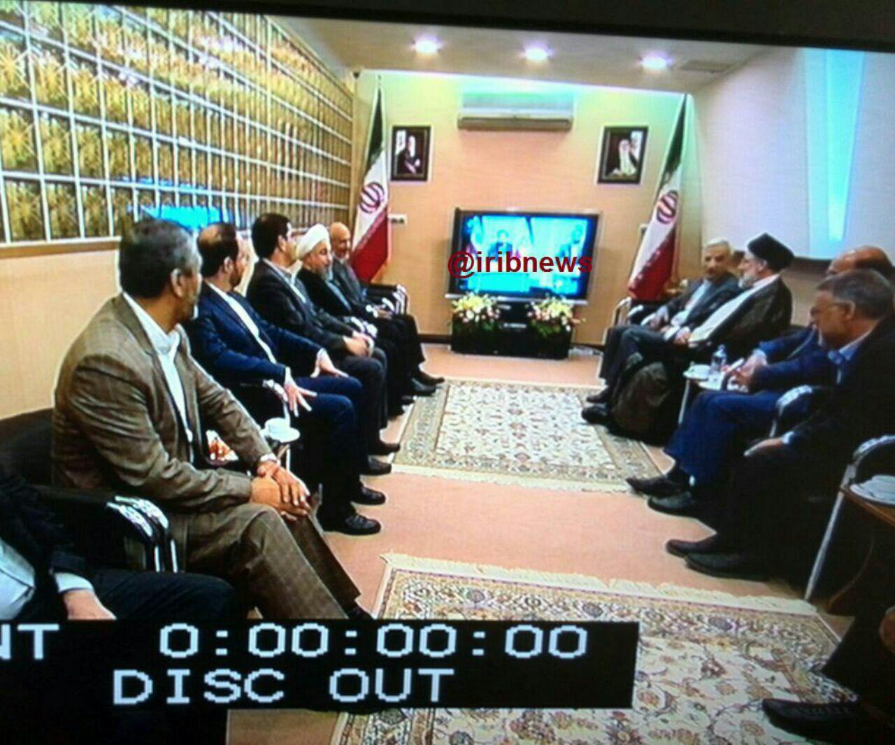 اولین مناظره ریاست جمهوری: آغاز مناظره در ساعت 16:30/ نامزدها به سالن گریم رفتند