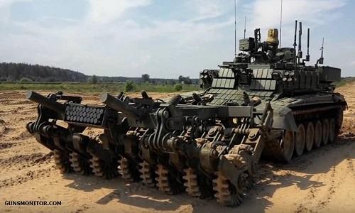 این تانک کنترلی روسیه را ببینید(+عکس/فیلم)