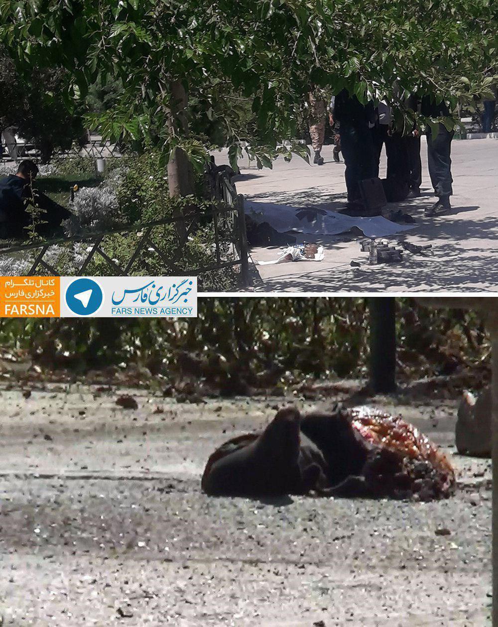 تیراندازی و انفجار انتحاری در حرم امام خمینی/ ادامه تیراندازی در مجلس / یک کشته و تعدادی زخمی (+عکس و فیلم)