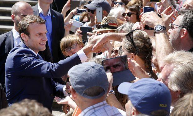 پیروزی بزرگ رییس جمهور فرانسه در انتخابات زودهنگام پارلمانی