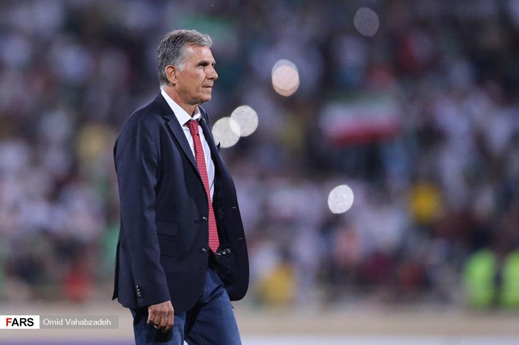 ایران 1 - 0 ازبکستان / گزارش زنده (پایان نیمه اول)