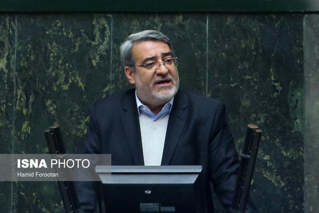 وزیر کشور: منافع مردم دلیل ارجاع پرونده پدیده شاندیز به وزارت کشور بود