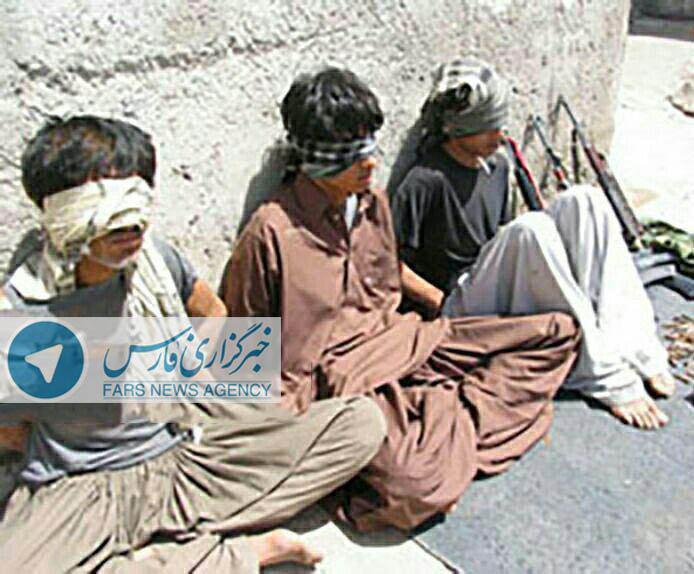 اعضای دستگیر شده گروه تروریستی انصار الفرقان در چابهار (عکس)
