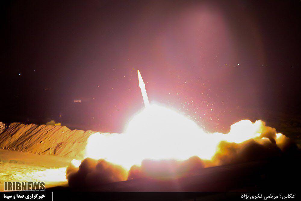 شلیک 6 موشک از ایران به مراکز تروریستها در سوریه (+عکس)