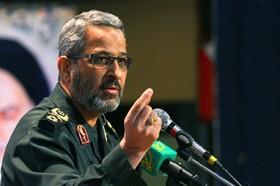 فرمانده بسیج: از این به بعد موشک در جواب ترقیبازی است