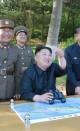 شادمانی های موشکی رهبر کره شمالی (+عکس)