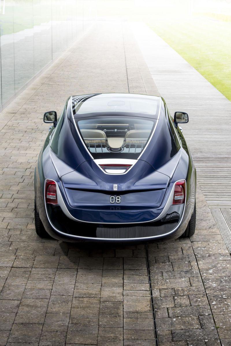 رولزرویس سوئیپتیل: گرانترین خودروی جدید ساخته شده در جهان