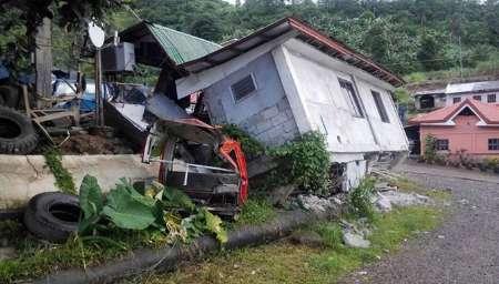 زلزله شدید در فیلیپین/ 2کشته و 72 مجروح (+عکس)