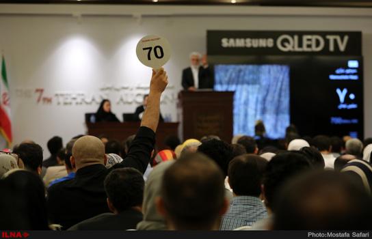 سهراب سپهری همچنان رکورد میزند/حراج تهران به ۲۶ میلیارد رسید/مرادخانی دو تابلو برای موزه هنرهای معاصر خرید (+عکس)