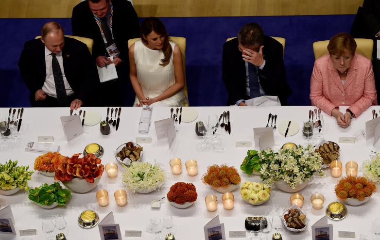 دیپلماسی شام همسران رهبران گروه 20 (+عکس)