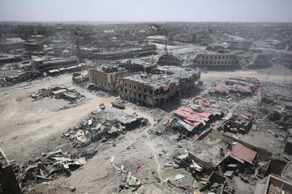 ویرانههای موصل پس از داعش (عکس)